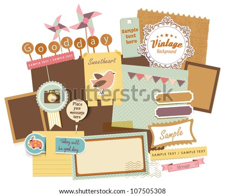 Vintage Design Elements (18) - stock vector