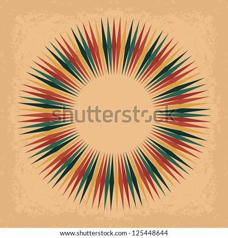 Vintage Design Template. Universal: Background Pattern Texture. Vector illustration EPS10 - stock vector