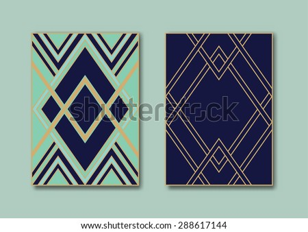 Design Templates Flyers Booklets Greeting Cards Stock Vector ...