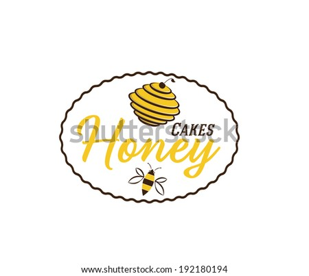 Queen Bee Logo Stock Images si...