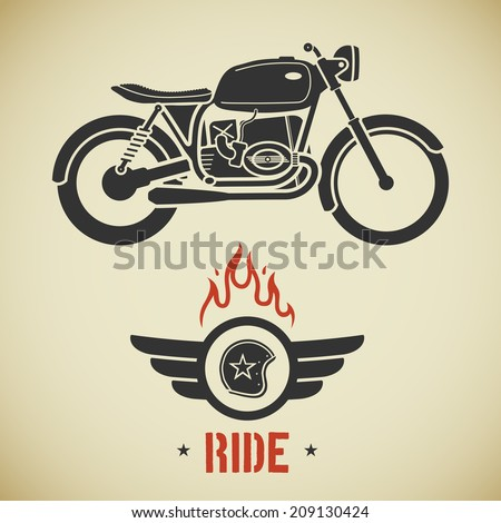 Motorcycle Silhouette Stock Images RoyaltyFree Images