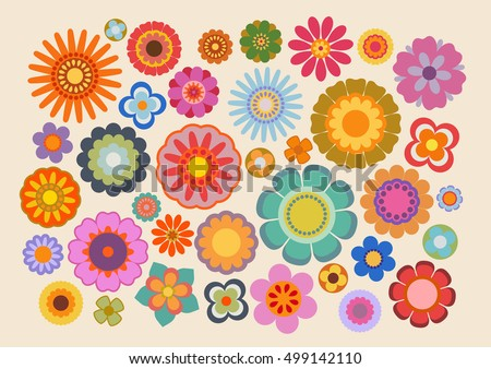 Psychedelic Flowers Stock Images, Royalty-Free Images & Vectors ...