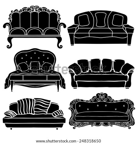 Baroque Furniture Stock Images RoyaltyFree ImagesVectors