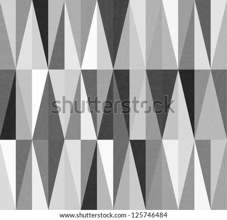 vintage geometric grayscale background - stock vector