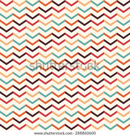 Vintage geometric pattern Seamless pattern with geometric motifs - stock vector