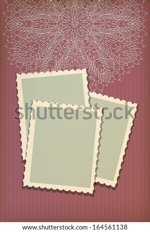 Vintage greeting card for merry Christmas card vector eps 10