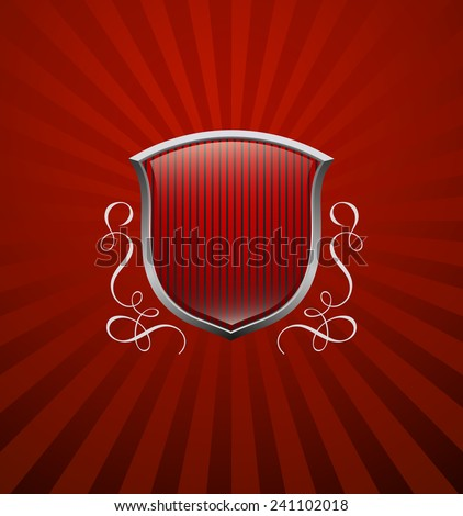 Vintage heraldry emblem - stock vector