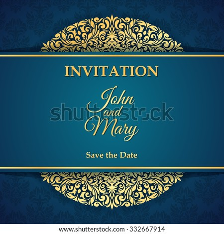 Invitation Card Images RoyaltyFree Images Vectors – Invition Card