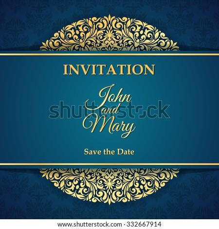 Invitation Card Design Images RoyaltyFree Images Vectors – Invitation Cards Design