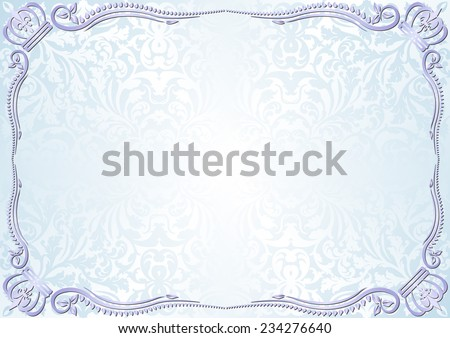 vintage light blue background  - stock vector