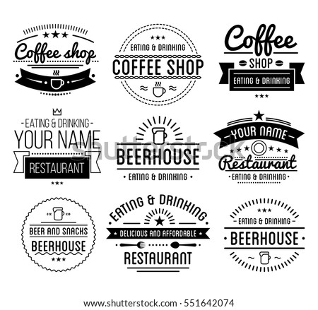 vintage logo stock images royalty free images vectors shutterstock. Black Bedroom Furniture Sets. Home Design Ideas