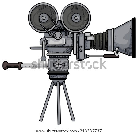 Vintage Movie Camera Stock Images, Royalty-Free Images & Vectors ...