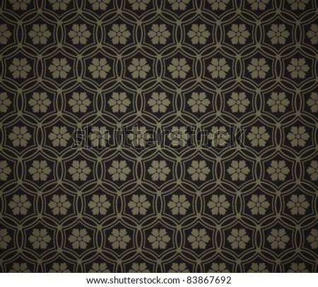 Vintage ornament old pattern. Vector background Eps 10. - stock vector
