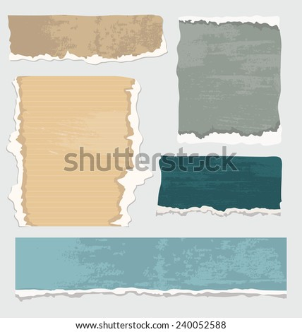 Vintage paper - stock vector