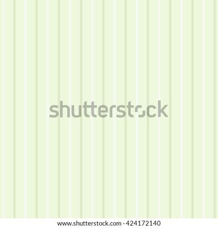 Vintage pastel stripes pattern in green tones - stock vector