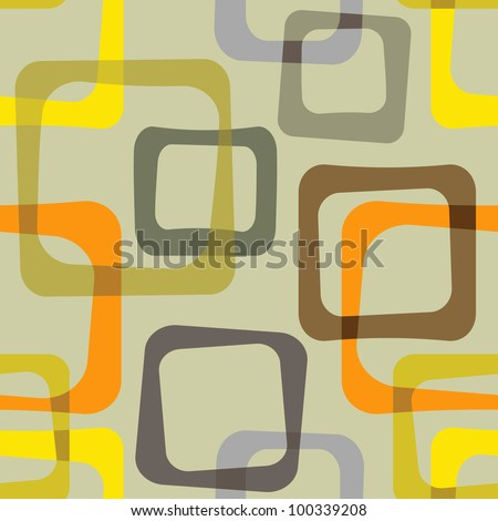 Vintage pattern - vector - stock vector