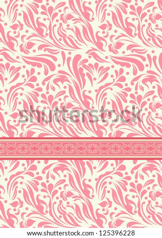 Vintage red background for invitation, backdrop, card, new year brochure, banner, border, wallpaper, template, texture vector eps 10 - stock vector