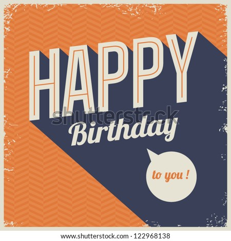 Happy Birthday Images RoyaltyFree Images Vectors – Birthday Card Font