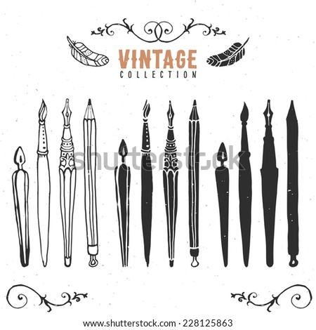Calligraphy Pen Stock Images Royalty Free Images