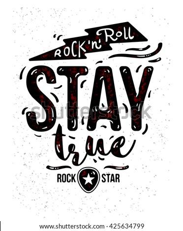 vintage rock roll poster tshirt designのベクター画像素材 425634799