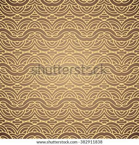 Vintage royal background. Seamless pattern ornament and decoration design - stock vector