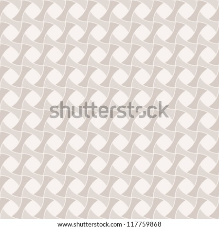 Vintage seamless geometric pattern. Vector EPS-8. - stock vector