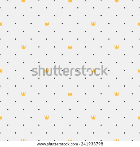 Vintage seamless pattern. Geometric shapes - stock vector