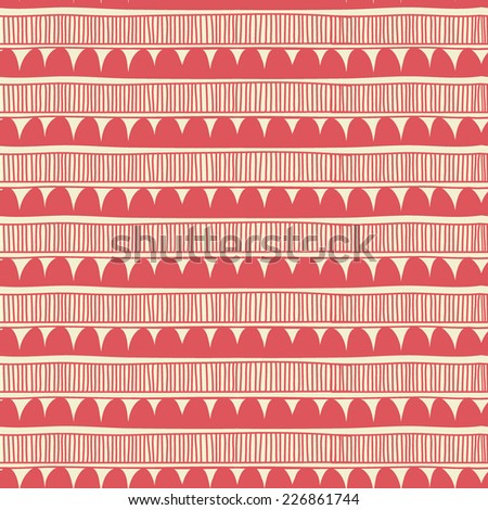 Vintage seamless pattern in vector. Seamless pattern can be used for wallpapers, pattern fills, web page backgrounds, surface textures. - stock vector