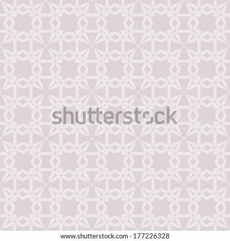 Vintage seamless pattern. Stylish texture. Repeating tiles. Ornamental. Geometric vector wallpaper or website background.  - stock vector