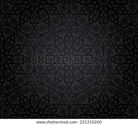 Vintage seamless pattern. Vector illustration  - stock vector