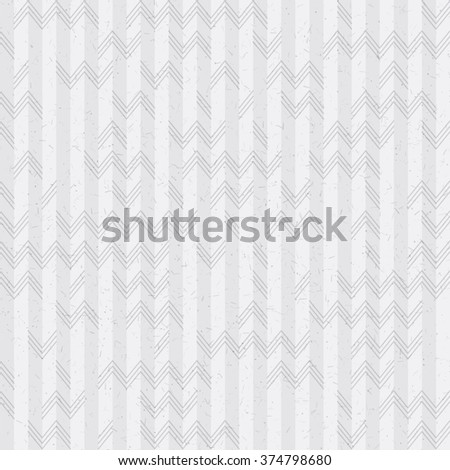 vintage seamless pattern with zigzags and lines - stock vector