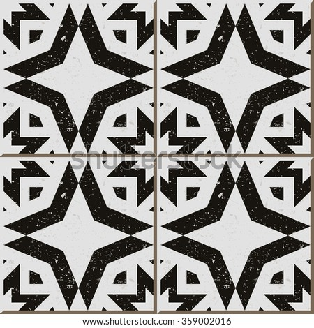 Delighted Black And White Tile Patterns Contemporary - Shower Room ...