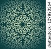 Vintage seamless wallpaper,damask design - stock vector