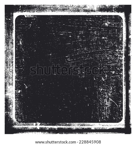vintage stencil background with shield - stock vector