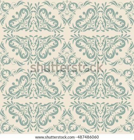 Vintage style seamless pattern. Design for fashion, textile, web and other decor.