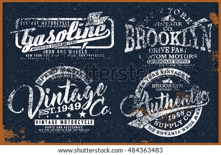 Vintage shirt design stock images royalty free images for Stock t shirt designs
