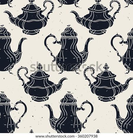 Vintage Teapot Graphic   www.pixshark.com - Images ...