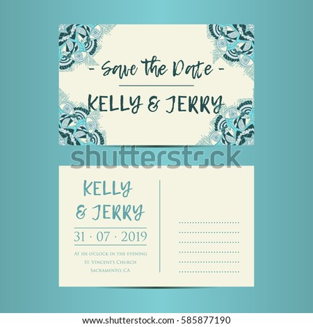 Vintage template design layout wedding invitation stock vector vintage template design layout for wedding invitation wedding invitation thank you card save stopboris Choice Image