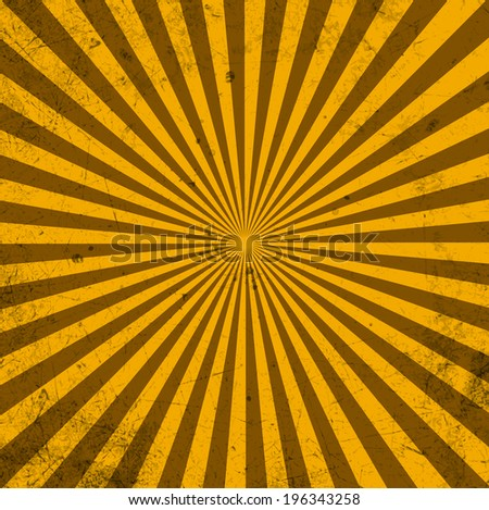 Vintage template. Rays. Abstract background with a blank texture. Vector. Eps10 - stock vector