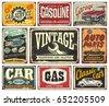 vintage transportation signs...