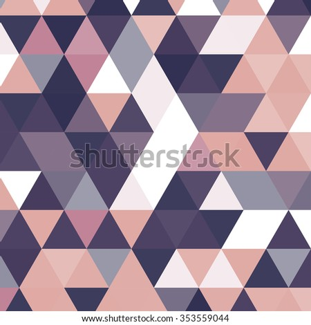Vintage triangle pattern.Geometric hipster retro background with place for your text. Retro triangle background. Colorful-mosaic-banner