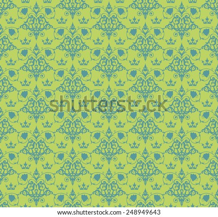 vintage vector abstract background for design of cards, invitations, website, paper packaging , book covers, wallpaper for wall (seamless pattern)
