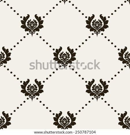 vintage vector abstract background for design of cards, invitations, website, paper packaging, book covers, wallpaper for wall (seamless pattern) - stock vector