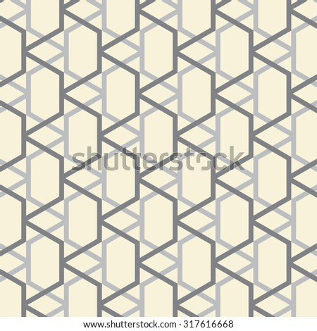 Vintage vector pattern. linear pattern. Stylish texture with repeating geometric shapes.