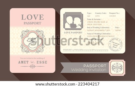 Blank Passport Page Stock Images RoyaltyFree Images  Vectors
