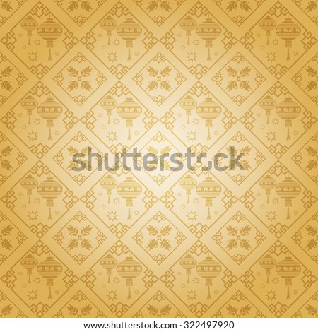 vintage wallpaper pattern modern stylish texture geometric tiles background in retro style for your design