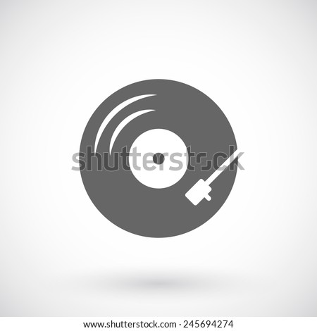 Vinyl record-player  icon