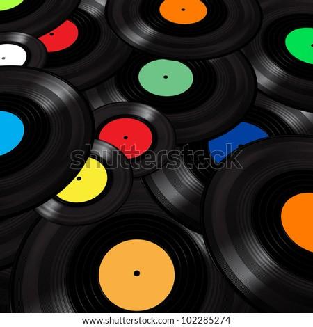 Vinyl bakgrunder