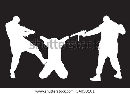 Violence - stock vector
