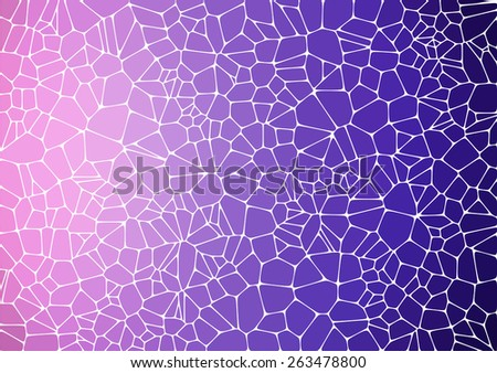 violet mosaic abstract background - Illustration for web - stock vector